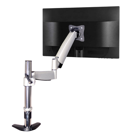 QualGear Articulating Monitor Desk Mount with Spring Arm main image