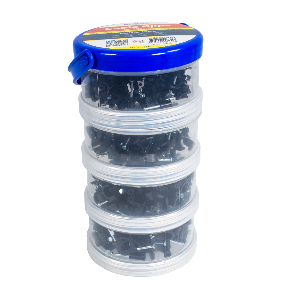 Assorted Cable Ties Canister