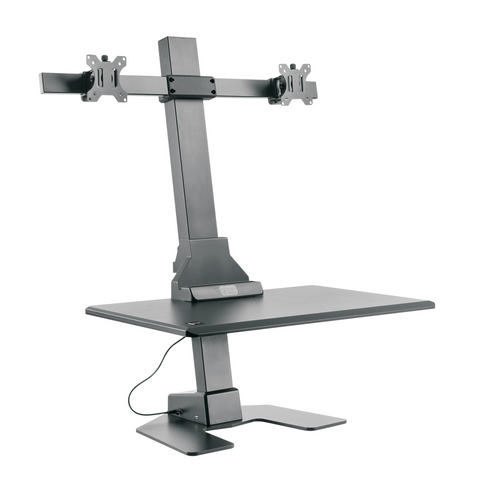 Star Ergonomics - Dual Monitor Electric Sit-Stand Workstation Premium Series (SE05E2WB)