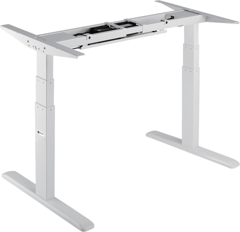 Star Ergonomics - 3 Stage Dual Motor Electric Sit-Stand Desk Frame (SE07E1FW)