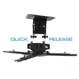 QualGear Universal Projector Ceiling Mount pictures