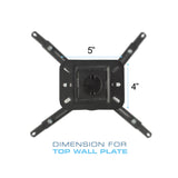 QualGear Universal Projector Ceiling Mount Secifications