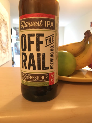 Off The Rail Fresh Hop Harvest IPA