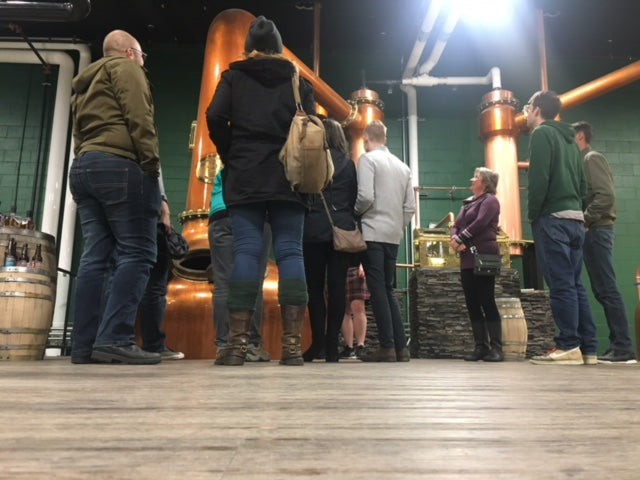 Networking Distillery Tour