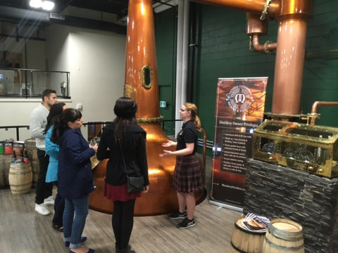 Victoria Caledonian Distillery Tour