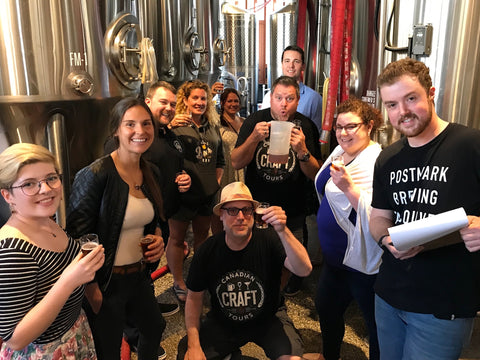 Brewery Tour Team Building