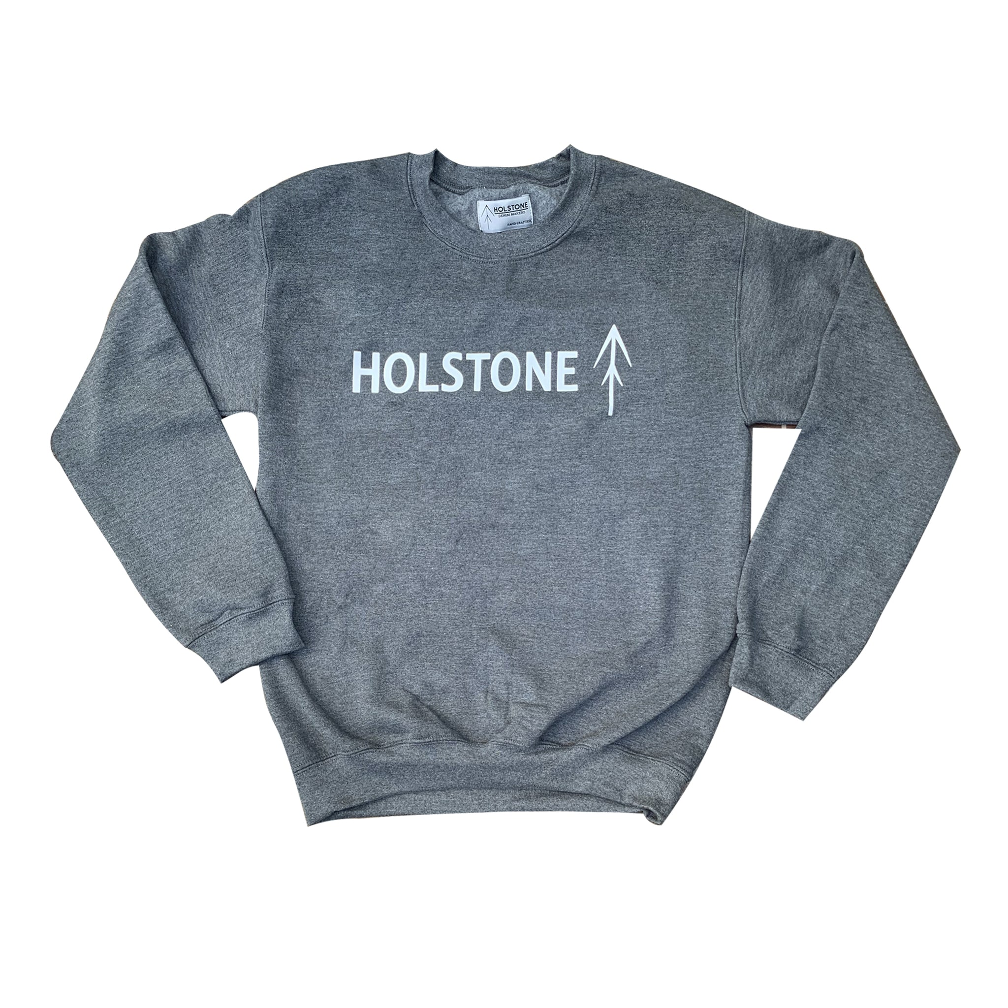 The Holstone Pullover Gris Obscuro