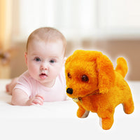New Kids Robotic Cute Electronic Walking Pet Dog Puppy Kids Toy With Music Light Electronic pets dog toys for children