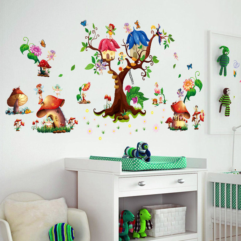 Wall Stickers Living Home Decor For Kids Rooms posters adesivo de parede