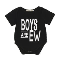 New Arrival Summer Baby Rompers Clothes Newborn Baby Boy Girls Rompers Short Sleeve Letter Print Baby Clothing Romper