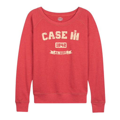Case IH 1842 Ladies French Terry Pullover