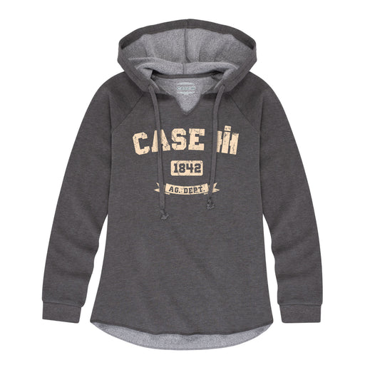 Case IH 1842 Ladies Lightweight Hooded Pullover