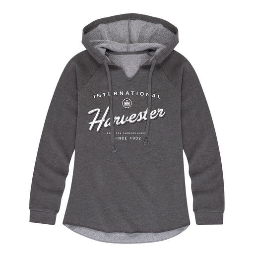 Ih American Farmers Choice Ladies Lightweight Hooded Pullover