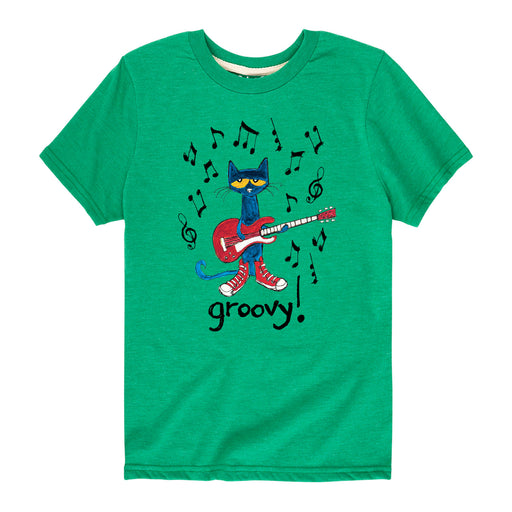 Pete The Cat Groovy Kids Short Sleeve Tee