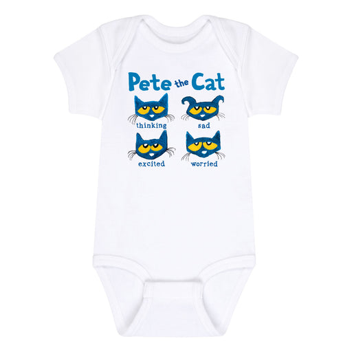 Pete The Cat The Faces Of Pete Infant One Piece