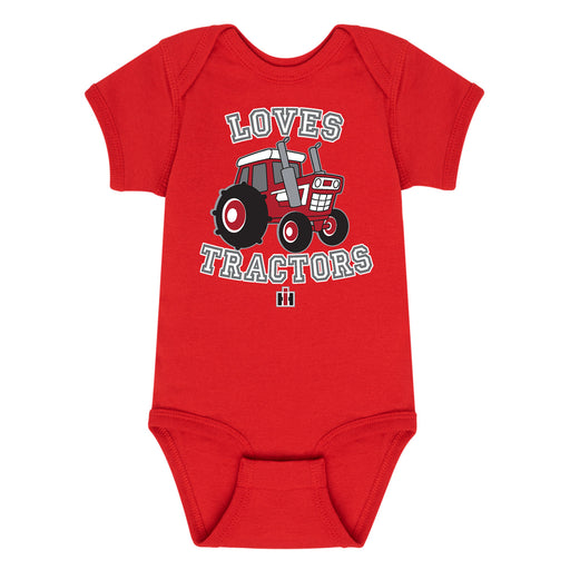 Loves Tractors Infant One Piece