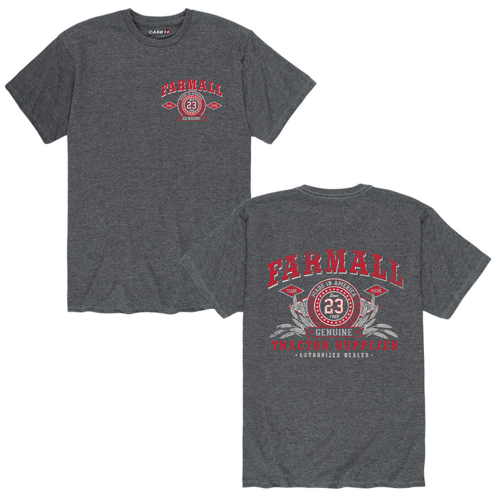 Farmall Tractor Supplies Mens Short Sleeve Tee