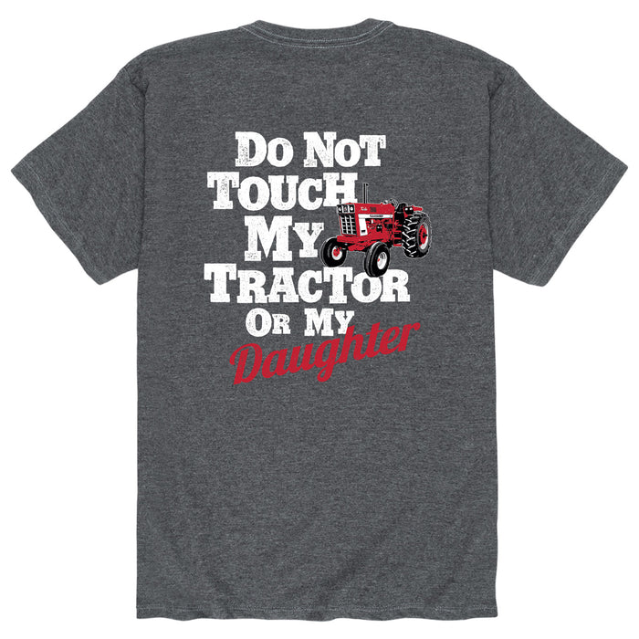 Do Not Touch My Tractor Mens Short Sleeve Tee