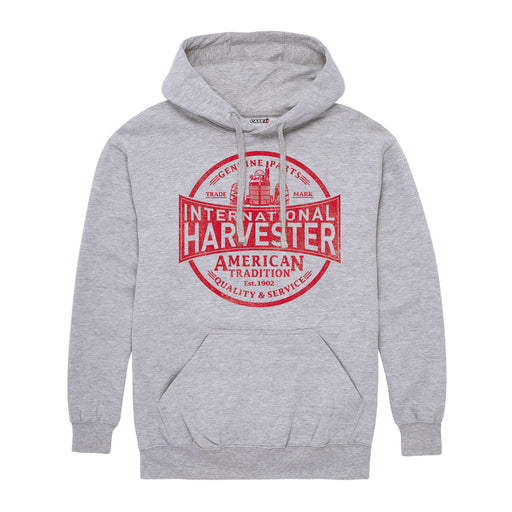 International Harvester™ - IH Quality And Service - Men's Pullover Hoodie