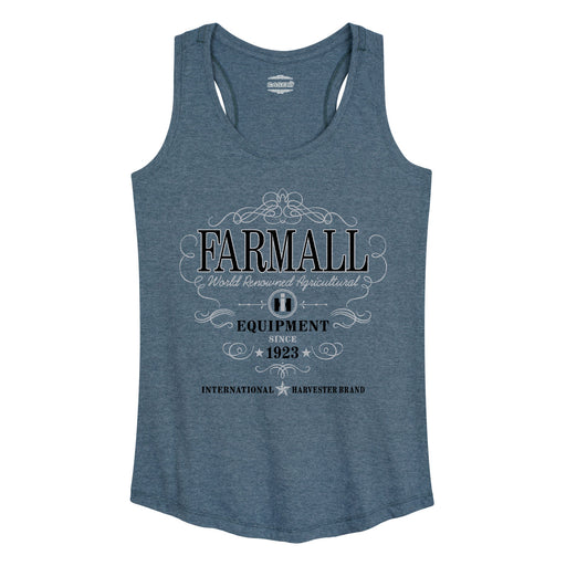 Farmall Equipment Womens Racerback Tank