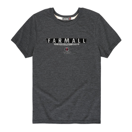 D10659 Farmall Grill Distressed Youth Short Sleeve Tee