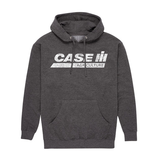 D11040 Case IH Ag Distressed Mens Pullover Hood
