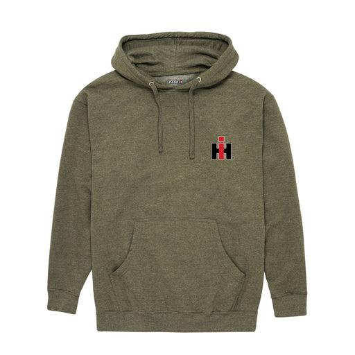 D11207 IH Front And Back Mens Pullover Hood