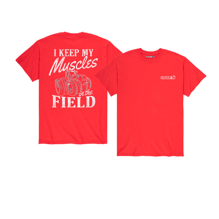 Keep My Muscles In The Field Men's Short Sleeve T-Shirt