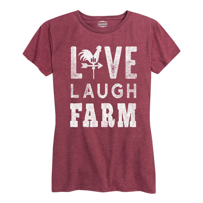 International Harvester™ Live Laugh Farm - Women's Short Sleeve T-Shirt