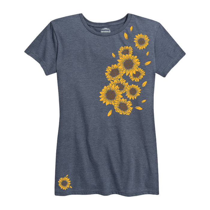 Sunflowers Ih Ladies Short Sleeve Classic Fit Tee