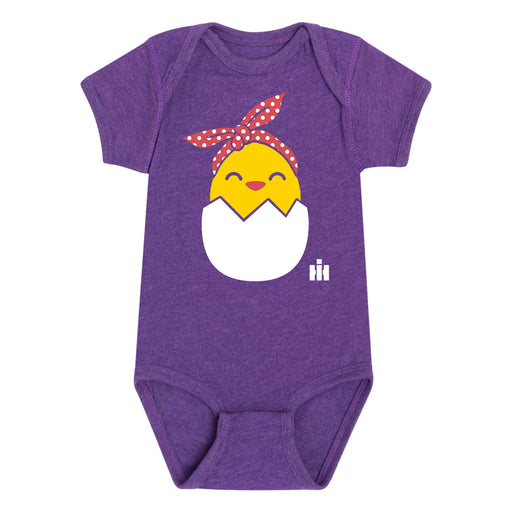Hatching Chick Bandana IH Infant Girls Infant One Piece
