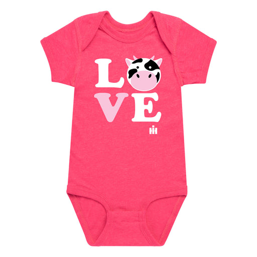 Love Cow Face IH Infant One Piece