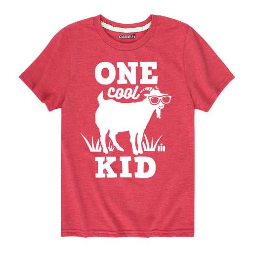 One Cool Kid Goat Kids Short Sleeve Tee