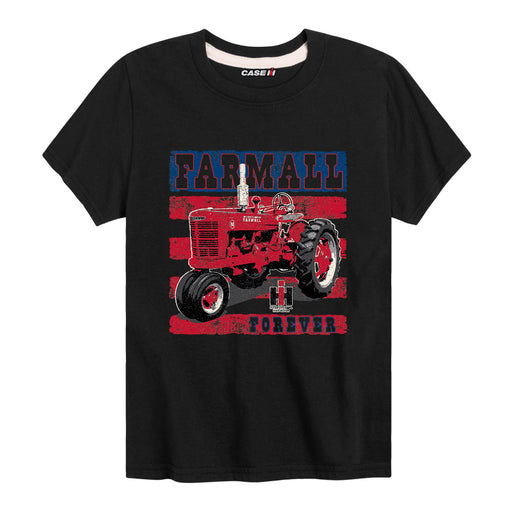 2021 S04 Farmall Forever Ih Youth Short Sleeve Tee