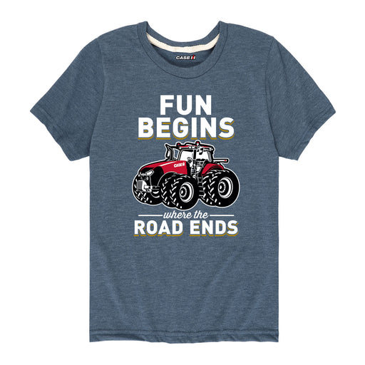 Fun Begins Case IH Kids Short Sleeve Tee