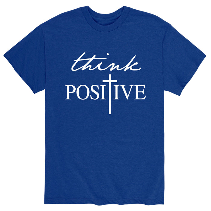 Think Positive Adult Short Sleeve Tee