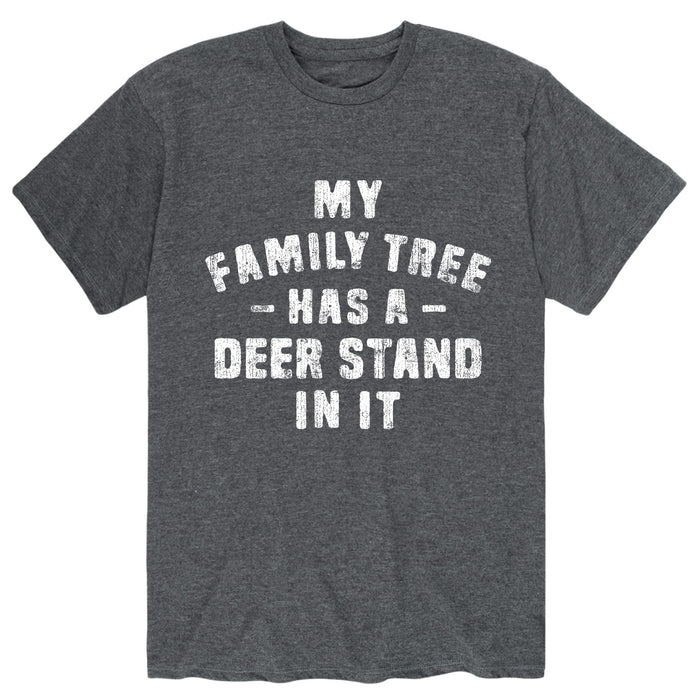 My Family Tree Has A Deer Stand In It Mens Short Sleeve Tee