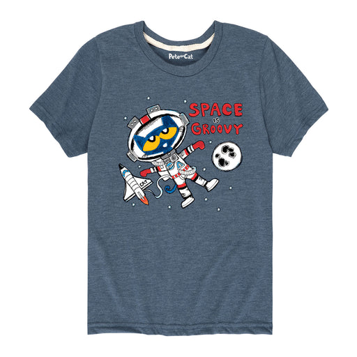 Ptc Space Is Groovy Kids Short Sleeve Tee