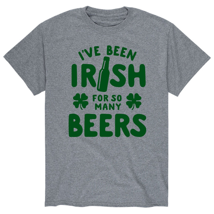 Irish for Many Beers - Men's Short Sleeve T-Shirt