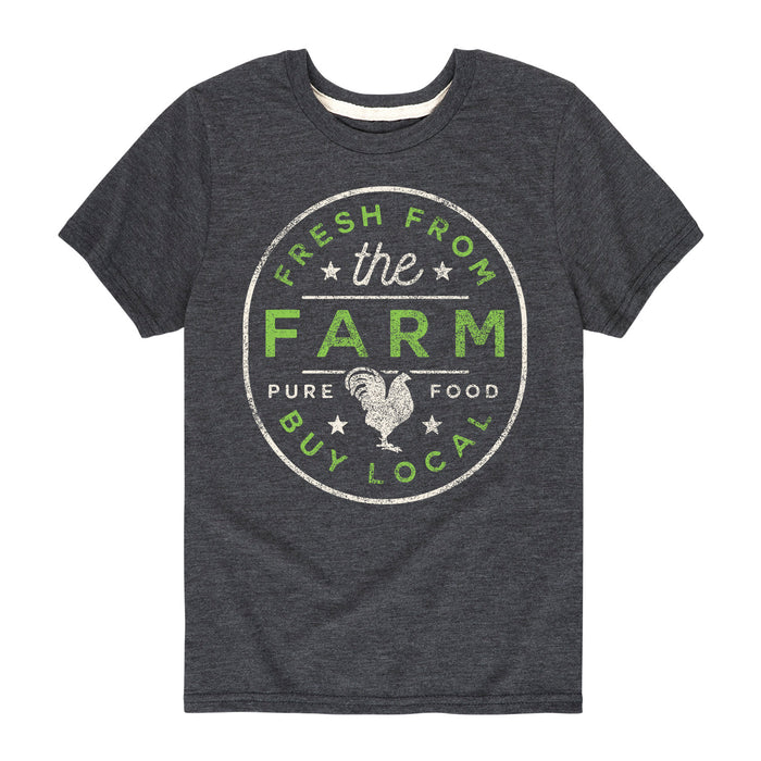 Fresh From The Farm Kids Short Sleeve Tee