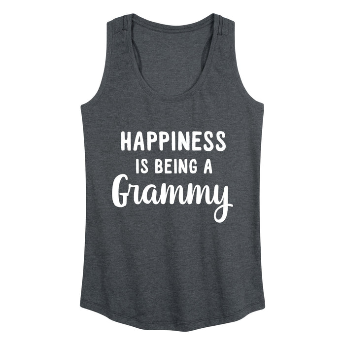 Happiness Is Being A Grammy Womens Racerback Tank