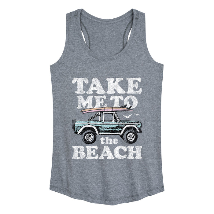 Take Me To The Beach Womens Racerback Tank