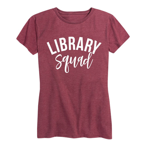 Library Squad - Women's Short Sleeve T-Shirt