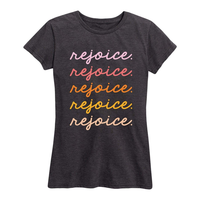 Rejoice Ladies Short Sleeve Classic Fit Tee