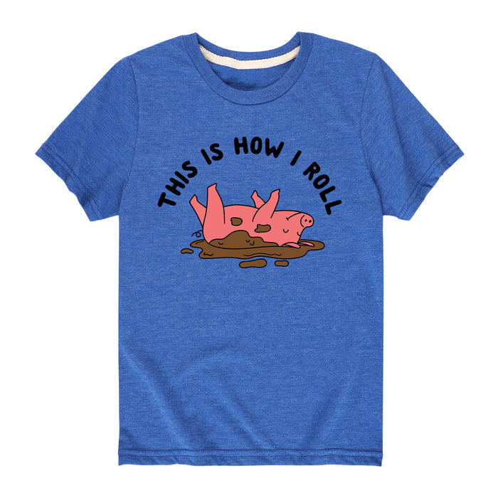 This Is How I Roll-Kids SHORT SLEEVE TEE