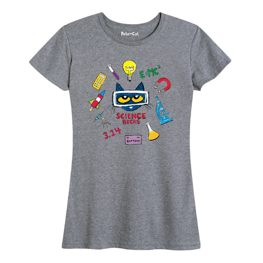 Pete The Cat™ Science Rocks Sciencefair Ladies Short Sleeve Classic Fit Tee