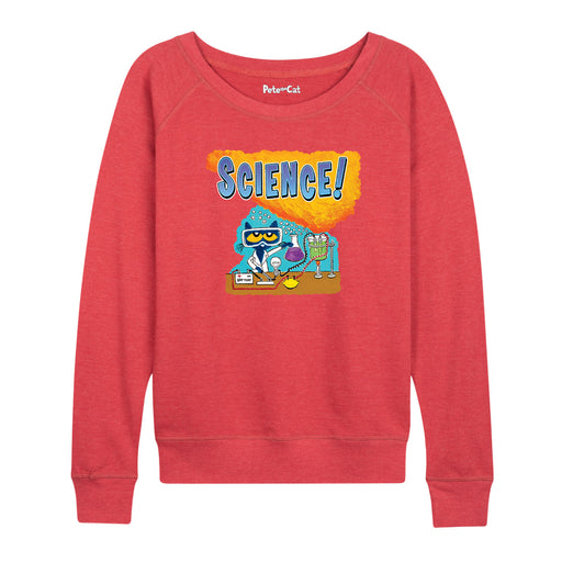 Pete The Cat™ Science Ladies French Terry Pullover