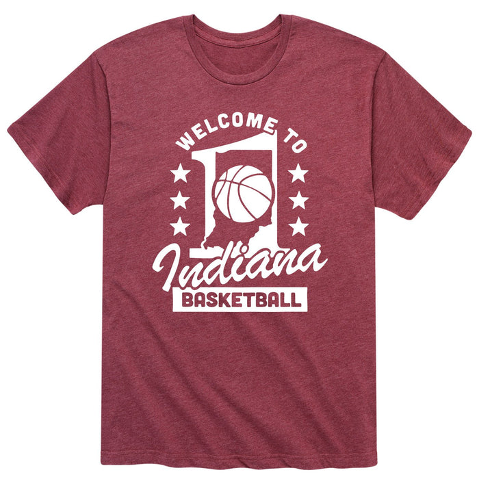 Welcome to Indiana Basketball - Men's Short Sleeve T-Shirt