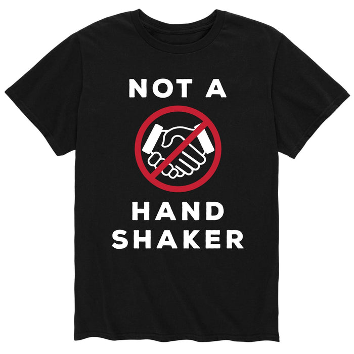 Not a Handshaker - Men's Short Sleeve T-Shirt