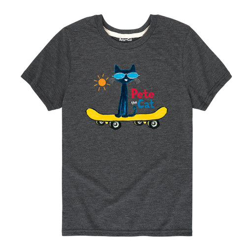 PTC Magic Sunglasses Skateboard Kids Short Sleeve Tee